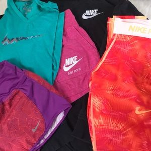 Girls lot of Nike apparel 5 pieces